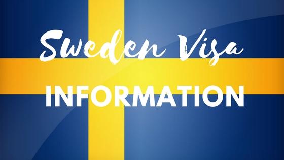 Hướng dẫn làm thủ tục visa thăm thân nhân ở Thụy Điển
